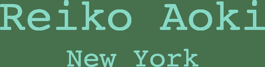 Reiko Aoki New York